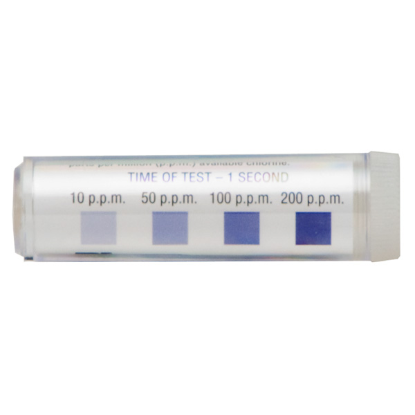 Chlorine Test Strips (Vial/100)