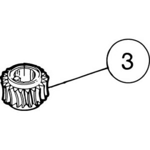SI-100E #3 Worm Gear