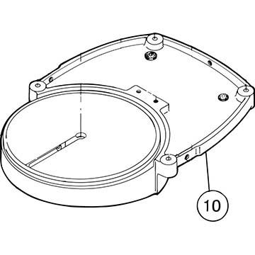 SI-100E #10 Shaving Disc with Frame