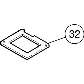 SI-100E #32 Gear Box Rubber