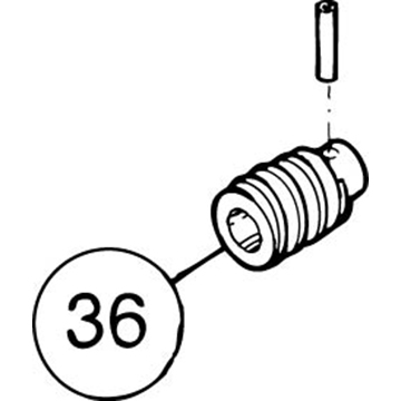 SI-100E Pin for SS Worm Gear
