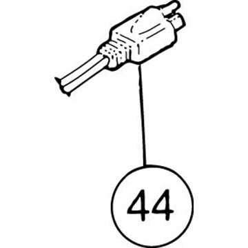 SI-100E #44 115 Volt Plug with Cord