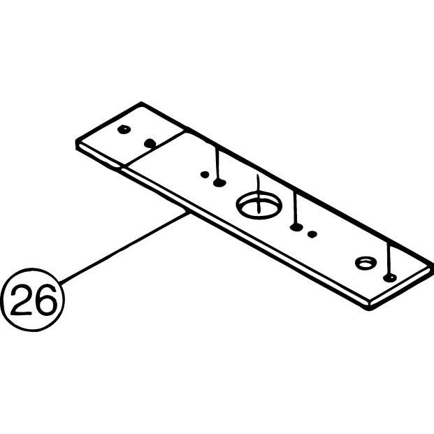 FM-800E #26 Bearing Plate