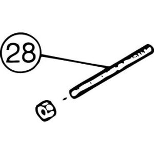 FM-800E #28 V-Belt Tension Bolt