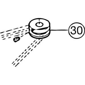 FM-800E #30 Motor Pulley