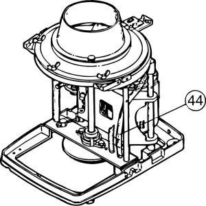 FM-800E #44 Drain Hose (Inside)