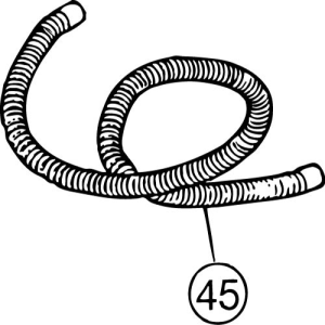 FM-800E #45 Drain Hose (Outside)