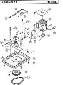 FM 800E assemble 2