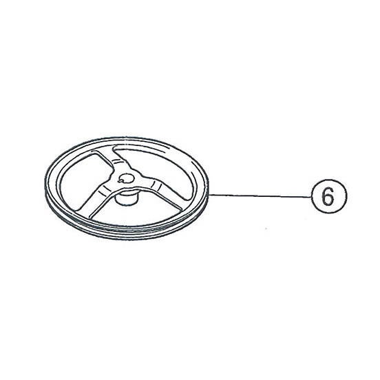 SI-150S #06 Large V-Pulley